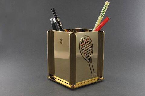 Κοπή με Laser μολυβοθήκης από Μπρούντζο